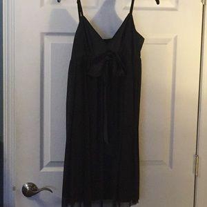 Black Strapy Dress